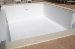 Impermeabilización piscina terminada