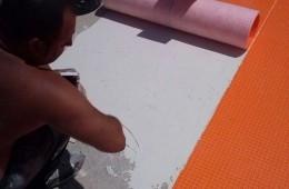 Impermeabilización lámina flexible