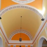 Decoración pintura en iglesia