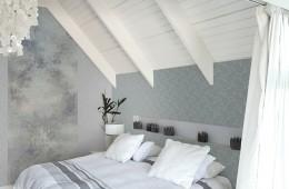 Papel pintado tonos grises