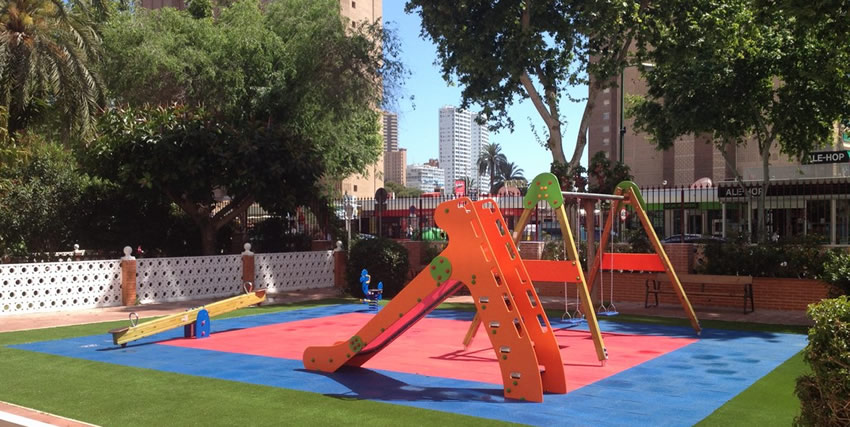 Parque infantil grupo galera