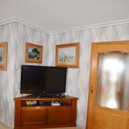 Papel pintado decoración en salón