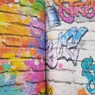 papel pintado juvenil