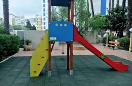 Parque Infantil realizado por grupo Galera